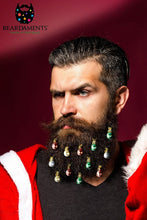 Beardaments Beard Ornaments Ugly Christmas Party Christmas Ornament Beard Baubles Christmas Decoration Beard Art Beard Bling Pack of 12