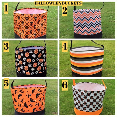 Halloween bucket,  treat or trick bag, Halloween Tote, baby gift, TOP SELLER, best price