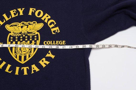 Vintage VALLEY FORGE MILITARY Academy Sweatshirt | 80's Distressed College Sweatshirt | Russell Athletic Brand | Unisex Medium | 'Murica