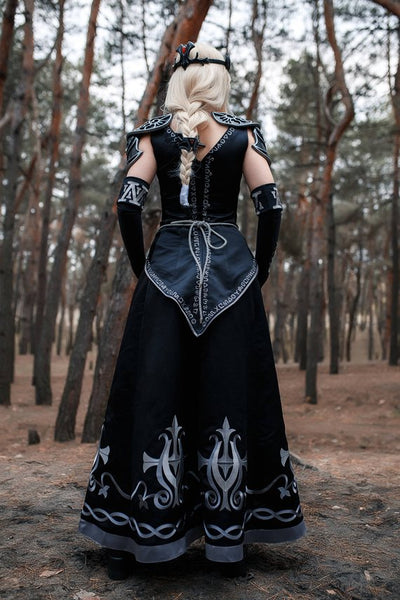 Princess Dark Zelda Cosplay Costume from the Legend of Zelda, Halloween costume