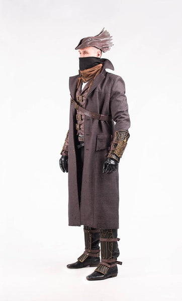Bloodborne Cosplay Costume Bloodborne Costume Cosplay Costume Men Cosplay Outfit Bloodborne Hat Video Game Cosplay Commission Outfit