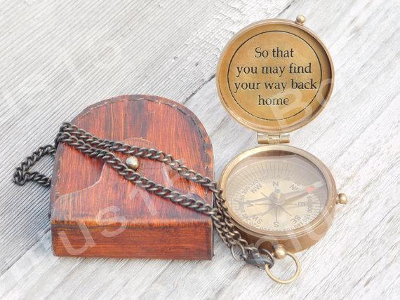 Compass, Engraved Compass, Personalized Compass, Groomsmen, Groomsmen Gift, Wedding Favors, Father Of Groom, Boy Scout Gift, Valentines Day