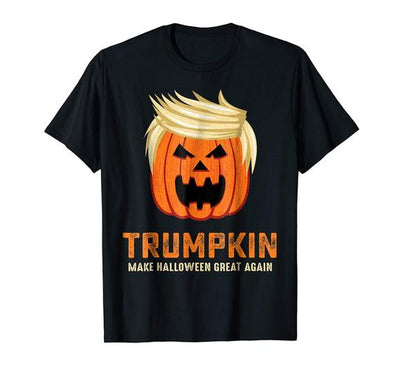 Halloween Trumpkin Funny T-Shirt, Gift for this Halloween, men and women tshirts, kids tshirt