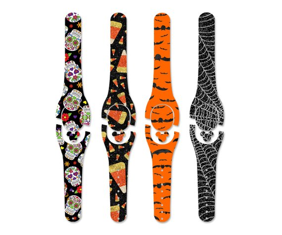Halloween Decal for Magic Band | Magic Band 1.0 or 2.0 Decal | Magic Band Skin | Available with Glitter or Glow Vinyl