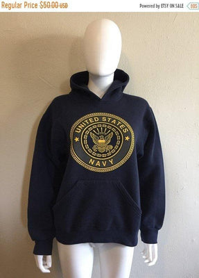 50% Off Closing SALE US United States Navy Sweatshirt Hoodie sweat shirt  Small