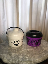 Vintage McDonald's Halloween Ghost And Witch Bucket/Happy Meal Toy-1980's