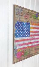 American Flag Wall Decor ~ Country Farmhouse Decor ~ 4th of July Wall Sign ~ Independence Day Decor ~ Patriotic Wall Decor ~ Summer Flag