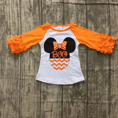 Minnie Mouse Halloween Ruffle Shirt