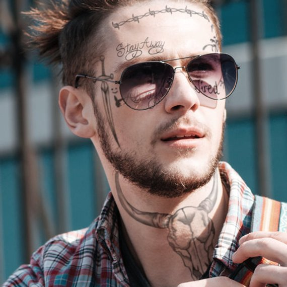 Post Malone Super Mega Temporary Tattoo Pack