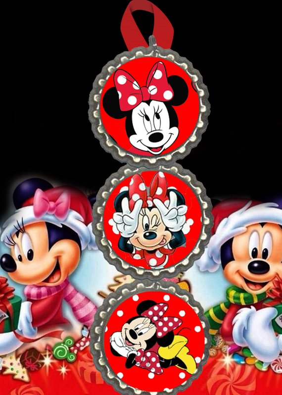 Minnie Mouse christmas ornament christmas tree decorations decor Fast Free shipping