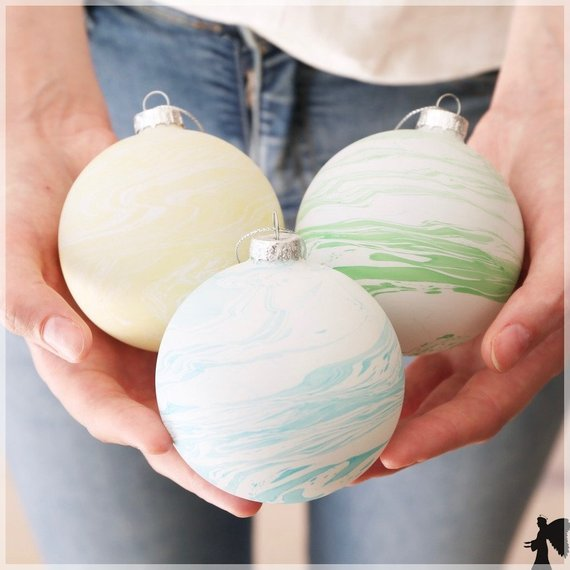 Marble Bauble, Christmas tree Decoration, Christmas Decorations, Christmas Gifts, Christmas Ornaments, Christmas Styles