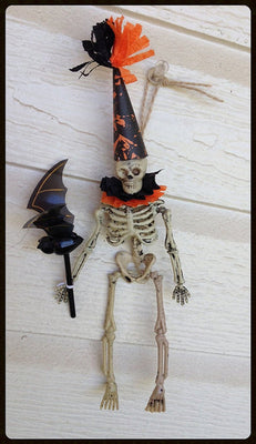 Halloween Decoration Skeleton Ornament