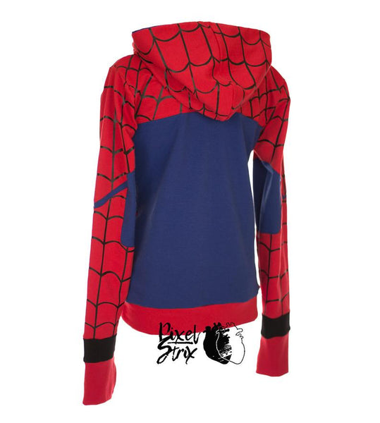 Spider-Hoodie  For Women