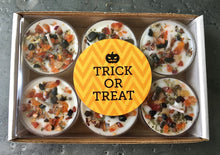 Halloween Pumpkin & Trick Or Treat Tealight Candles