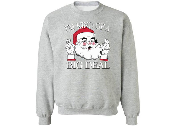 Giraffita  Christmas Gifts Dear Santa I can explain  i'M kind of big deal  Men Common Sweater Size M-2XL  Halloween Sweater