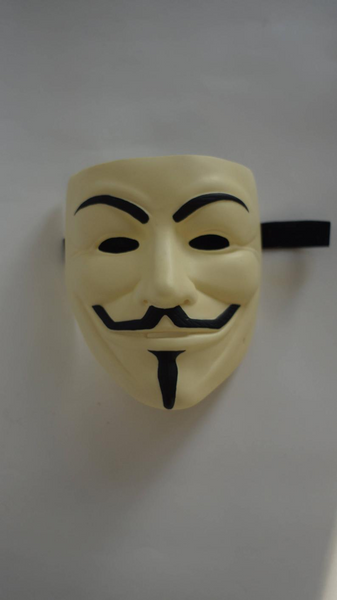 1Pcs High Quality V for Vendetta Mask Anonymous Movie Guy Fawkes Halloween Masquerade Party Cosplay Mask Drop Shipping