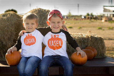 Halloween Pumpkin T-Shirt For Boys And Girls