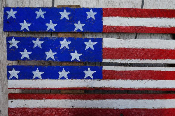 Wooden usa flag, rustic american flag, american home decor, independence day gift, outdoor indoor sign, old american flag, patriot american