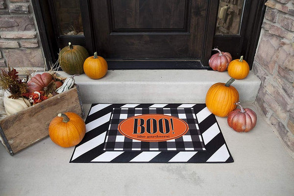 Halloween Boo Indoor or Outdoor Doormat