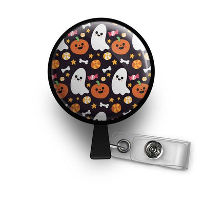 Spooktacular Halloween Retractable ID Badge Reel • Halloween Badge Holder