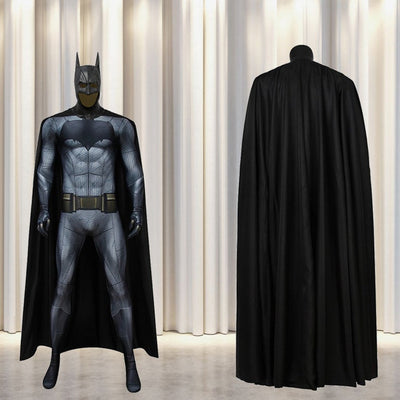 Batman Costume Cosplay Suit with Cloak Bruce Wayne Batman v Superman Dawn of Justice 3D Printed