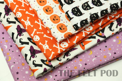 Halloween Pumpkin Fabric