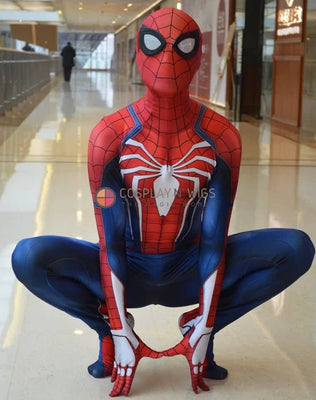 FREE SHIP PS4 Spider-Man Costume 3D Print for Adults and Kids