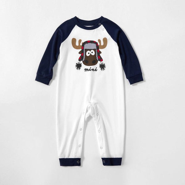 2018 Winter baby Christmas clothing sets Children Pajama Sets baby New Year's clothing Long sleeve homewear set clothing suits
