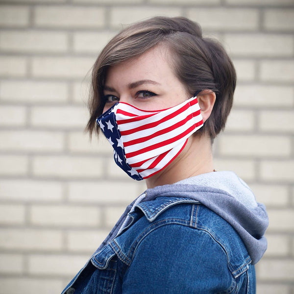 Face Mask, Patriotic Face Mask, America,  Washable Face Mask, Cotton Mask, Reusable Mask