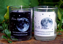Full Moon Halloween Candle - Halloween Decor - Halloween Scents - Fall Scents - Apothecary Jar - Horror Decor - Fall Candles - Autumn