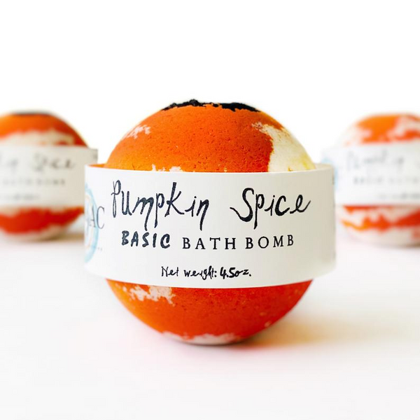 Pumpkin Spice Bath Bombs - Halloween Bath Bombs - Halloween Party Favors