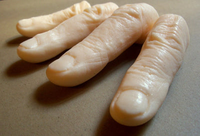Finger soaps for your Halloween Decoration needs - decor & party home decor halloween party House Beautiful