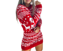 Women's Holiday Christmas Dress • Christmas Shirt, Women's Ugly Christmas, Sweater Plus Size, xmas clothing apparel