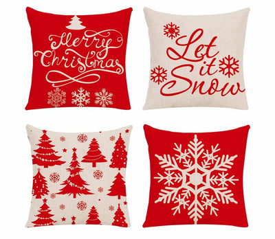 Christmas Decorative Pillow Merry Christmas Decor For Home Christmas Ornaments Xmas 2018 Chrismas Cristmas Decor Noel