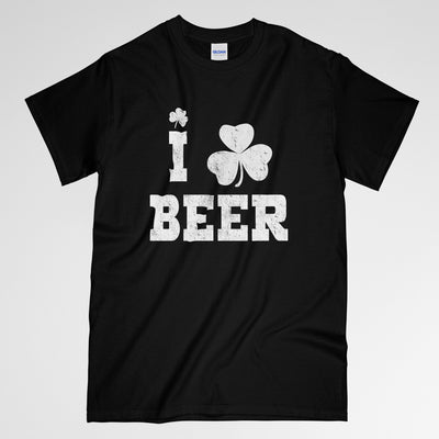 I love bee, I love beer shirt, Beer shirt, Saint patty day, patty shirt, Drinking shirt, Drinking, Drunk shirt, Gift for him, gift for her