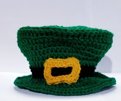 Saint Patricks Day Hat - Leprechaun Hat - Saint Patty's Hat - Childs Leprechaun hat - Baby photo prop