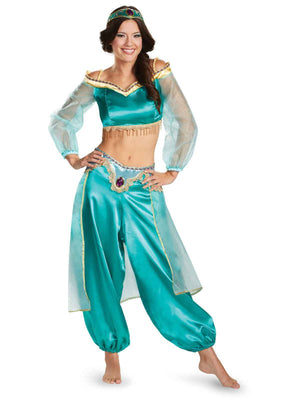 Halloween Aladdin Costume Princess Jasmine Costumes for Adult Men Women Couple Arabian Clothing King of Arabia Masquerade Dress