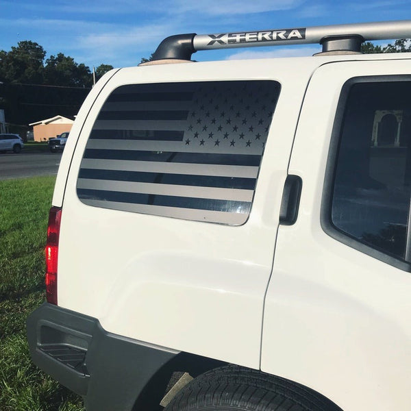 All Years - American Mountian Flag Xterra Decals - Stickers Vinyl Nissan Window Usa Gen 1 2 Custom Flags Rear Accessories Parts Adventure    4x4  Update your settings