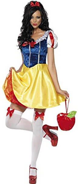2018 Sexy Adult Snow White Costume Carnival Halloween Costumes For Women Fairy tale queen Clothes Dress Female cosplay Party
