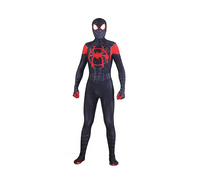 Movie Spider-Man Homecoming Costume Adult Spiderman Cosplay Costume Halloween Cool Superhero Spandex Zentai Suit Aubalee