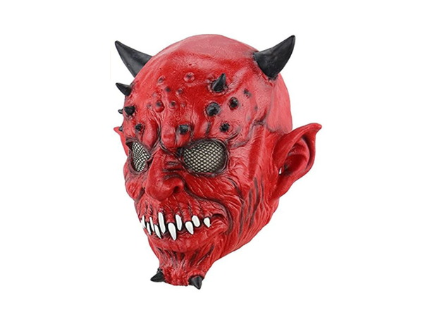 Festival Party Supplies Halloween Latex Mask Horrifying Mask Latex Mask With Hat For Masquerade Halloween Costume Bar Realistic