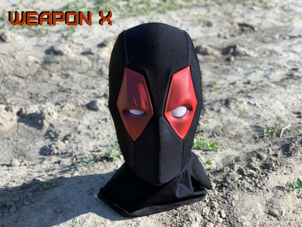Deadpool halloween mask dark design