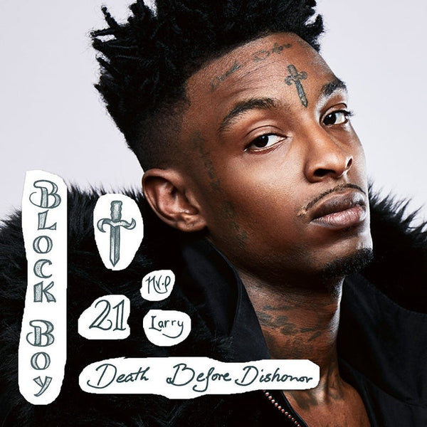 21 Savage Temporary Face Tattoos Set - Best for Halloween Costume | Skin Safe