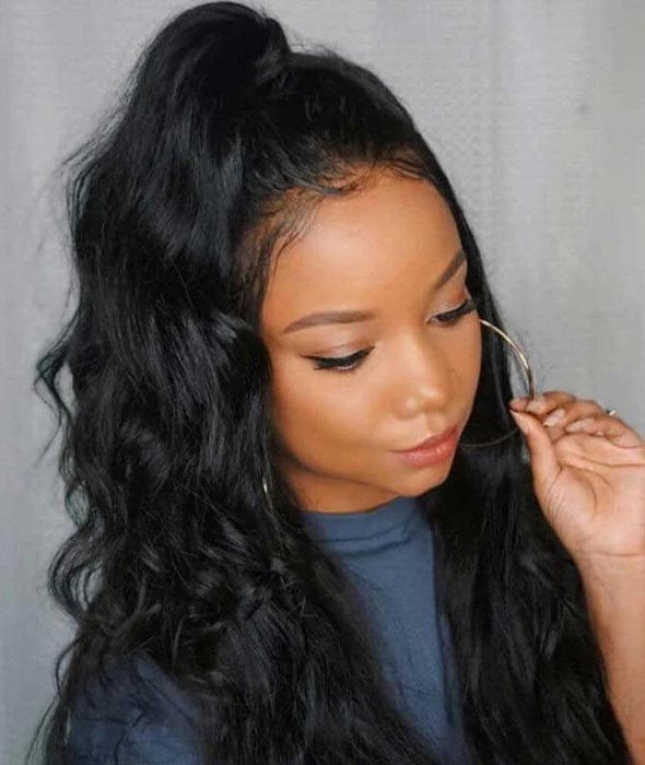 Peruvian Virgin Hair Body Wave Wigs