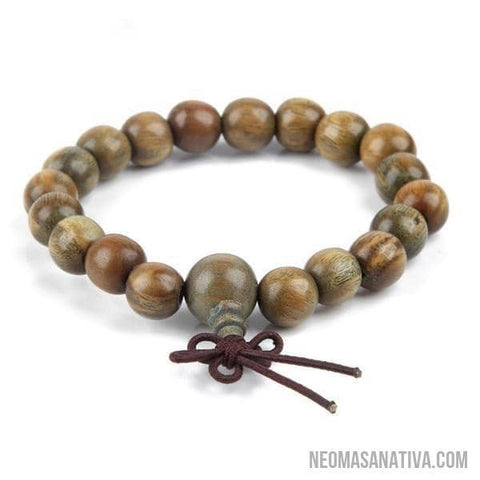 Palo Santo Wood Buddha Beads Bracelet Collection-Bracelets-9mm-Neoma Sanativa Design