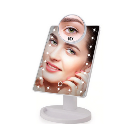 (1 Pack) LED Makeup Mirror