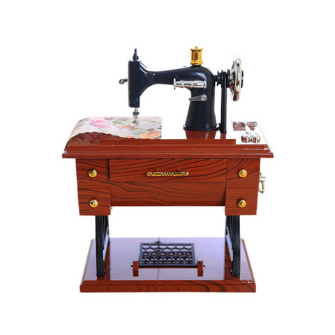 1 Pack - Sewing Machine Music Box