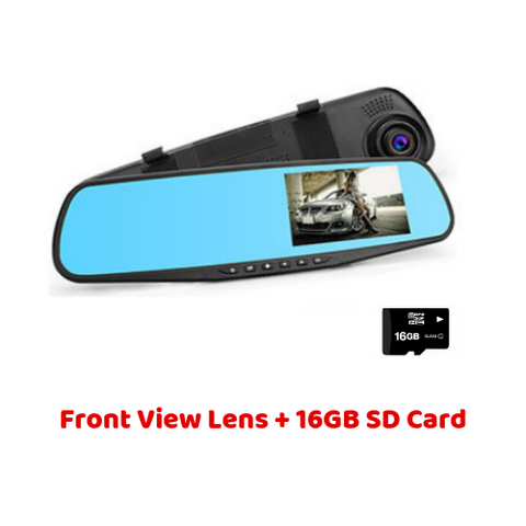 (1 Lens + 16GB SD Card) Super Smart Dash Cam