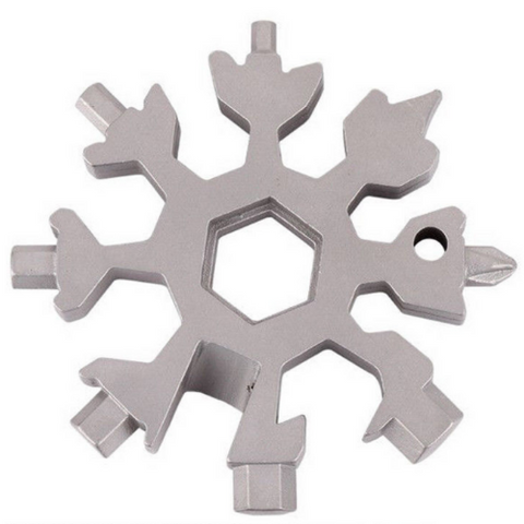 (1 Pack) Multi-Tool Snowflake Card