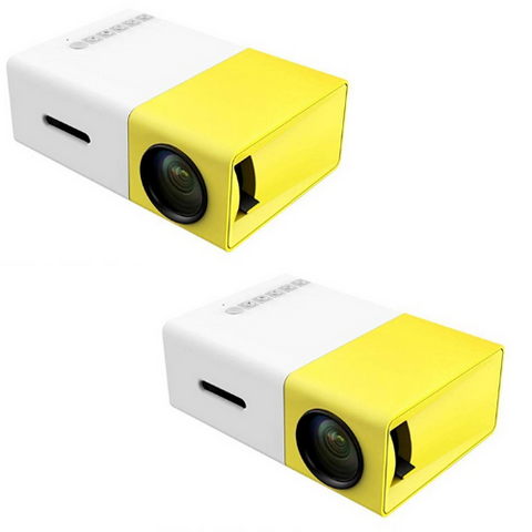 Tiny HD Pocket Projector (2 Pack)